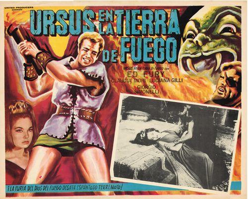 Ursus En La Tierra De Fuego Mexican Lobby Card