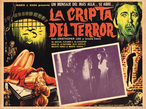 La Cripta Del Terror Mexican Lobby Card