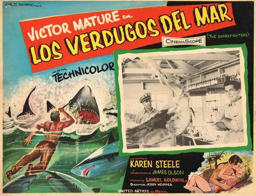 Los Verdugos Del Mar Mexican Lobby Card