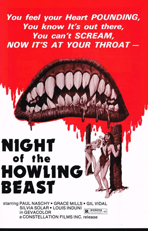 Night of the Howling Beast Pressbook