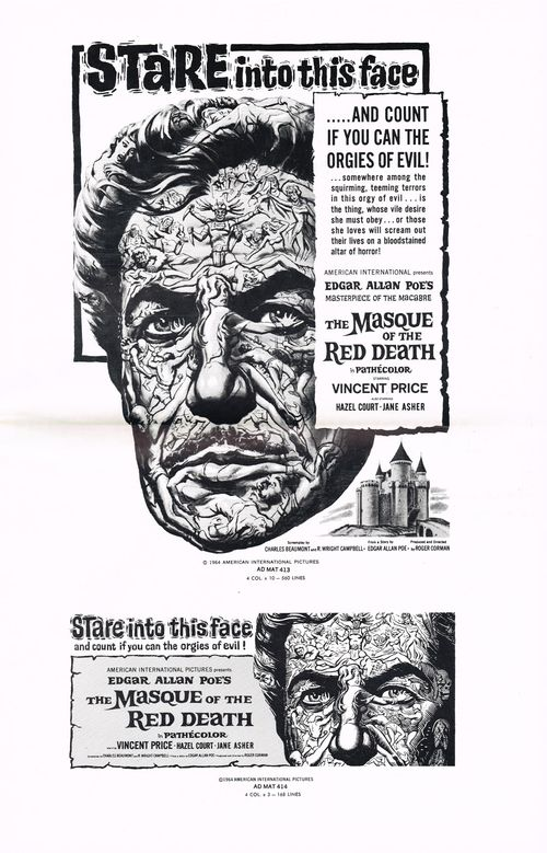 The Masque of the Red Death Pressbook
