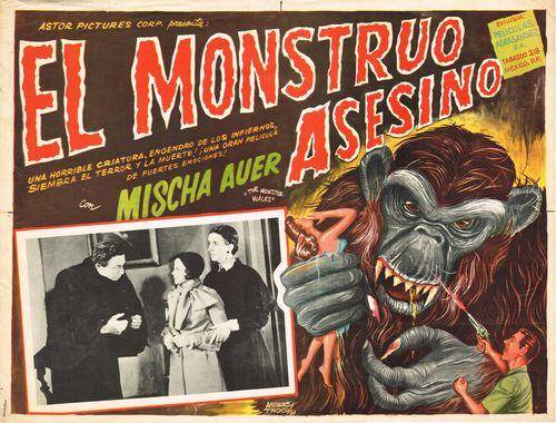 El Monstruo Asesino Mexican Lobby Card