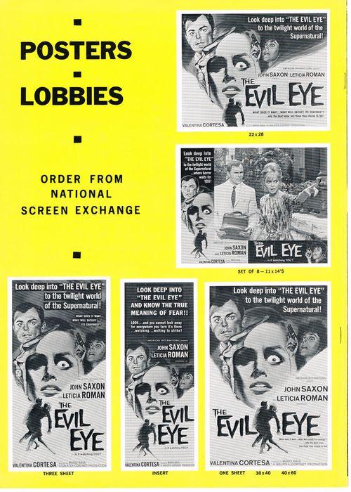 The Evil Eye Pressbook