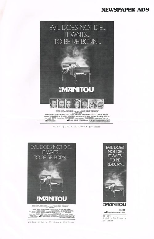 The Manitou Pressbook