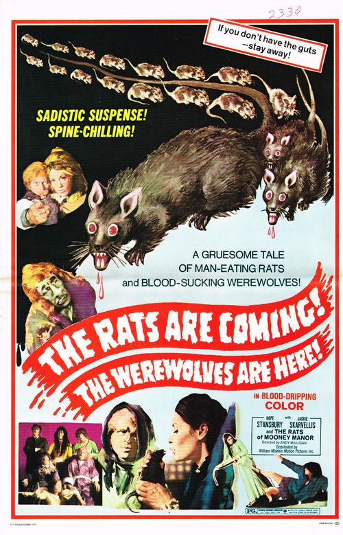 The Rats are Coming! The Werewolves Are Here! Pressbook