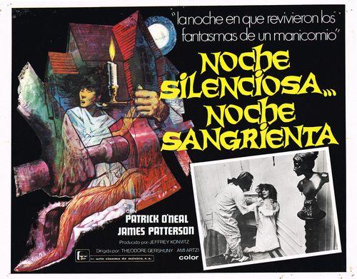 Noche Silenciosa Noche Sangrienta Mexican Lobby Card