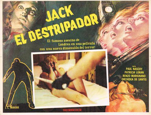 Jack El Destripador Mexican Lobby Card