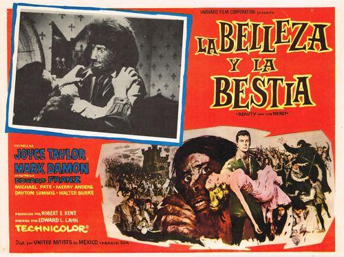 La Belleza Y La Bestia  Mexican Lobby Card