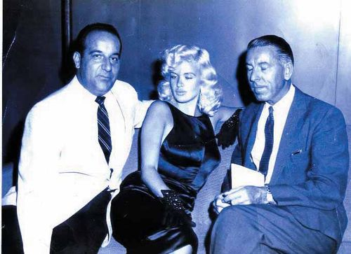 Johnny Dee with Jayne Mansfield