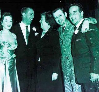 Johnny Dee with Macdonald Carey