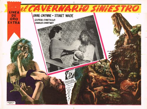 El Cavernario Siniestro Mexican Lobby Card