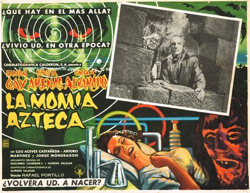 La Momia Azteca Mexican Lobby Card