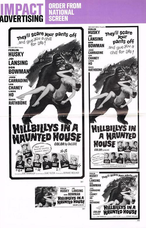 hillbillys in a haunted house pressbook