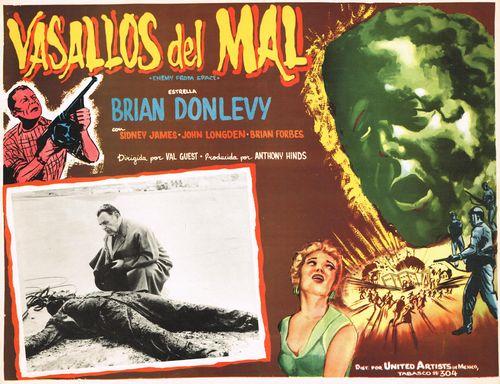 Vasallos Del Mal Mexican Lobby Card