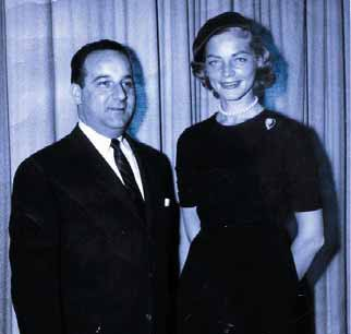 Johnny Dee with Lauren Bacall
