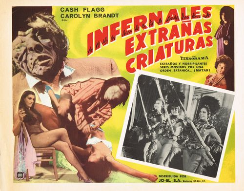 Infernales-extranas-criaturas mexican lobby card
