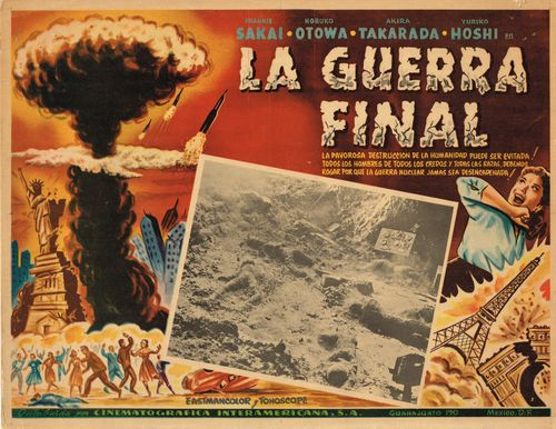 La Guerra Final Mexican Lobby Card