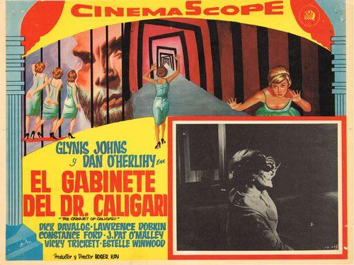El Gabinete Del Dr. Caligari Mexican Lobby Card