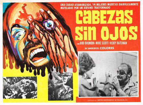 Cabezas Sin Ojos Mexican Lobby Card