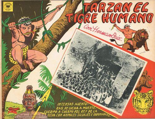 Tarzan el tigre humano mexican lobby card