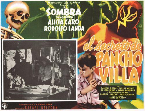 El Secreto De Pancho Villa Mexican Lobby Card
