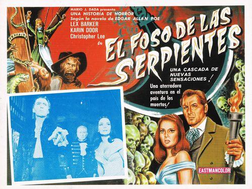 El Foso De Las Serpientes Mexican Lobby Card