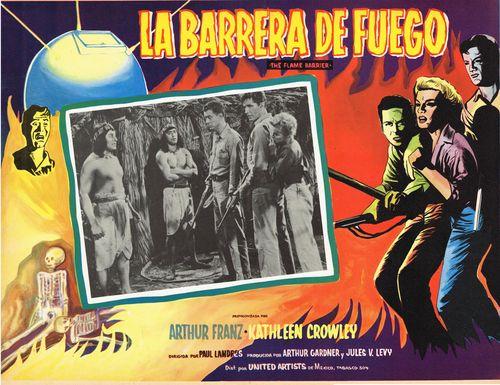 La Barrera De Fuego Mexican Lobby Card