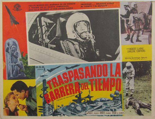 Traspasando La Barrera Del Tiempo Mexican lobby card