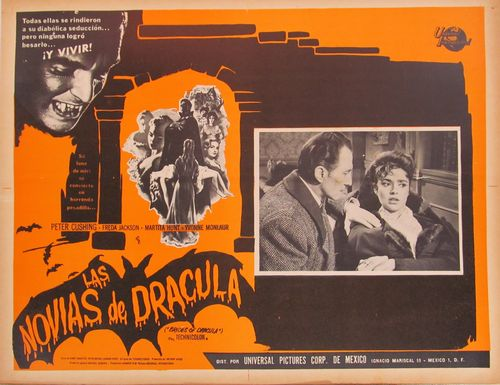 Las Novias De Dracula Mexican Lobby Card