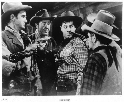 Pardners movie scene