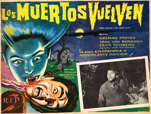 Los Muertos Vuelven Mexican Lobby Card