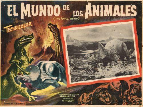 El Mundo De Los Animales Mexican Lobby Card