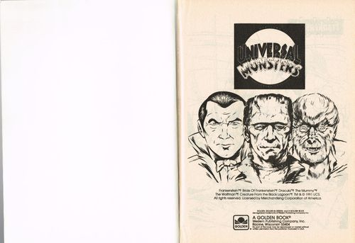 universal monsters golden a big coloring book