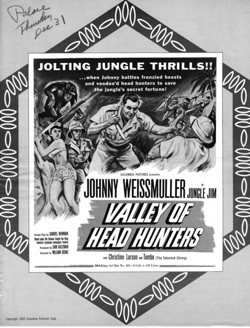 valley of the headhunters pressbook