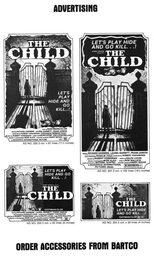 The Child Pressbook