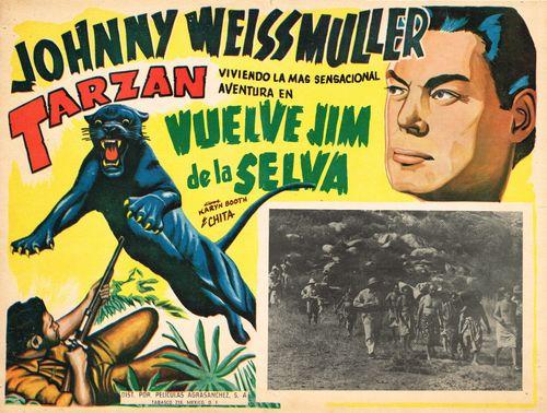 Vuelve Jim De La Selva Mexican Lobby Card