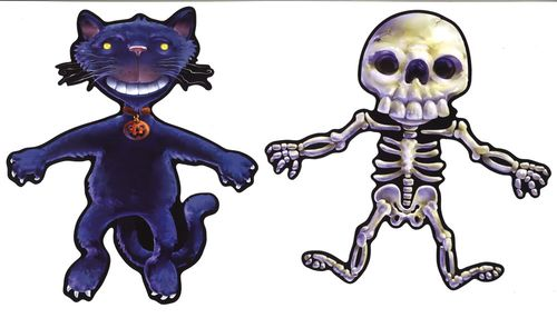 beistle halloween cutout