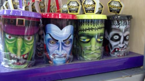 walmart monster cups for halloween