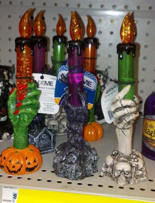 rite aid halloween candlestick