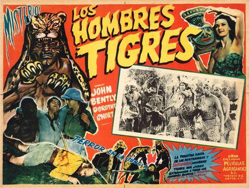Los Hombres Tigres Mexican Lobby Card