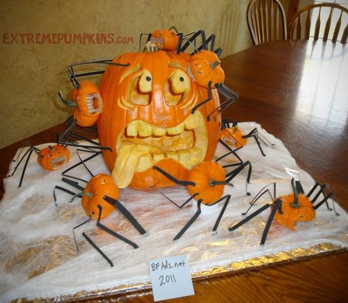 This-pumpkin-is-being-attacked-by-spiders-2