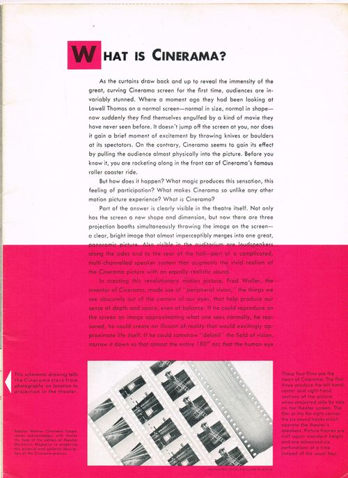 This is Cinerama Pressbook