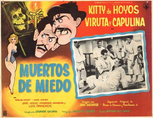 Muertos De Miedo Mexican Lobby Card