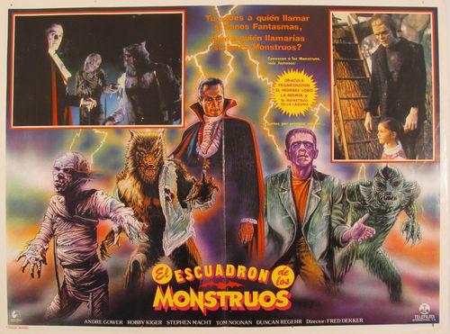 El Escuadron De Los Monstruos Mexican Lobby Card