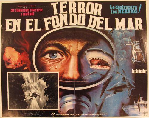 Terror En El Fondo Del Mar Mexican Lobby Card