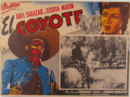 El Coyote Mexican Lobby Card