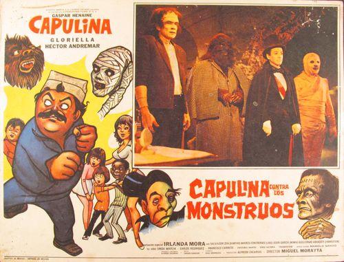 Capulina Contra Los Monstruos <br>Mexican Lobby Card