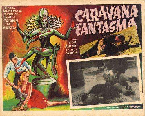 Caravana Fantasma Mexican Lobby Card
