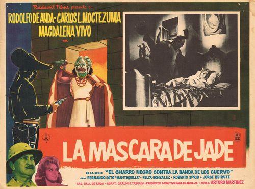 La Mascara de Jade Mexican Lobby Card