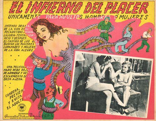 El Infierno Del Placer Mexican lobby card